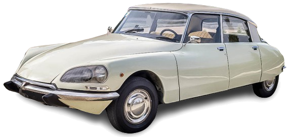 Citroen DS Pallas avorio