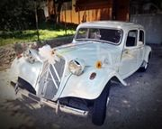 Citroen Traction Avant bianco in Umbria e Marche